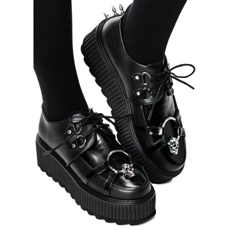 buty damskie KILLSTAR - Skeleton - BLACK, KILLSTAR