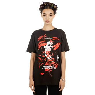 koszulka unisex DISTURBIA - Frida Flowers, DISTURBIA