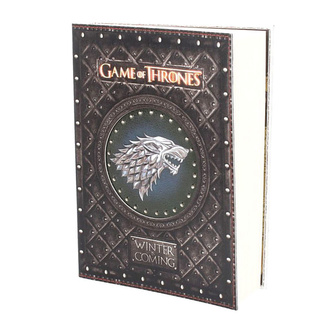 Notatnik Game of thrones - Winter is Coming, NNM, Game of thrones
