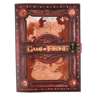 Notatnik Game of thrones - Seven Kingdoms, NNM, Game of thrones