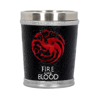 Kieliszek Game of thrones - Fire and Blood, NNM, Game of thrones