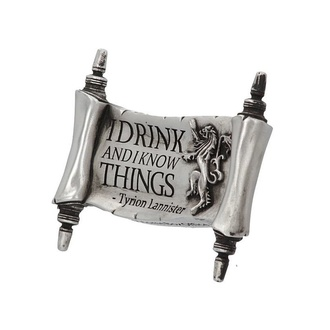 magnes Game of thrones - I Drink and I Know, NNM, Game of thrones