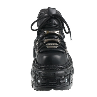 buty - NEW ROCK - NEGRO TORNILLOS, NEW ROCK