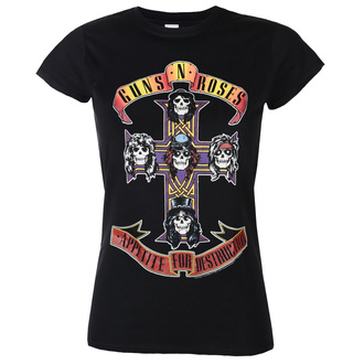 koszulka damska Guns N' Roses - Appetite For Destruction - ROCK OFF, ROCK OFF, Guns N' Roses