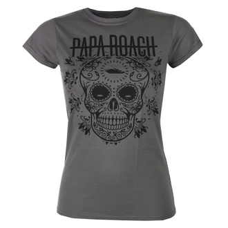 koszulka damska Papa Roach - Dia De La Roach - Charcoal - KINGS ROAD, KINGS ROAD, Papa Roach