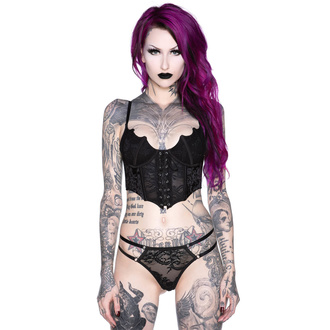 gorset damski KILLSTAR - Fang Lace, KILLSTAR