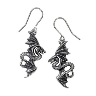 kolczyki ALCHEMY GOTHIC - Flight of Airus - Pewter, ALCHEMY GOTHIC