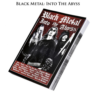 książka Black Metal: Into The Abyss (signed), CULT NEVER DIE