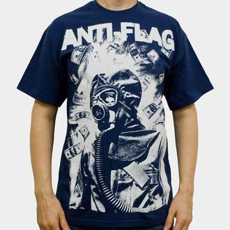 koszulka męska Anti Flag (Gasmask) - KINGS ROAD - Blue Navy, KINGS ROAD, Anti-Flag