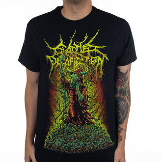 koszulka męska CATTLE DECAPITATION - Justice Reaper - Black - INDIEMERCH, INDIEMERCH, Cattle Decapitation