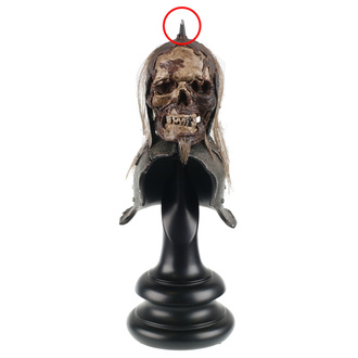 figurka Lord of the rings - Lord of the Rings Replica Skull Trophy Helm of the Orc Lieutenant - WETA860402116 - USZKODZONA, NNM, Lord Of The Rings