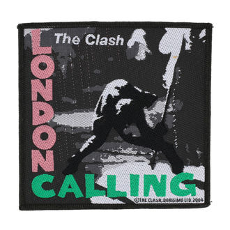 naszywka THE CLASH - LONDON CALLING - RAZAMATAZ, RAZAMATAZ, Clash