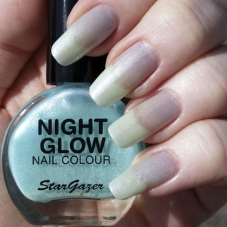 lakier do paznokci STAR GAZER - Glow In The Dark - Glow Jade, STAR GAZER