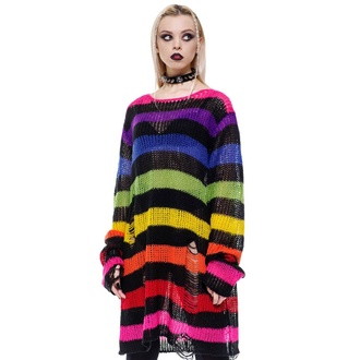 sweter unisex KILLSTAR - Over The Rainbow, KILLSTAR