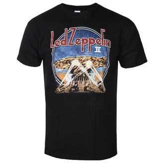 koszulka męska Led Zeppelin - LZII Searchlights - Black, NNM, Led Zeppelin