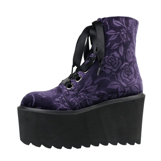 buty damskie KILLSTAR - Vampires Kiss Platform - PLUM, KILLSTAR