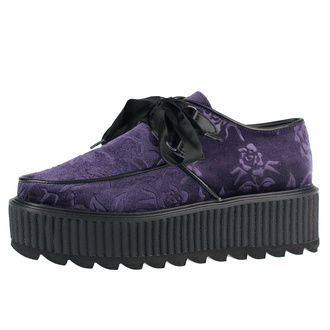 buty damskie KILLSTAR - Vampires Kiss Creepers - PLUM, KILLSTAR