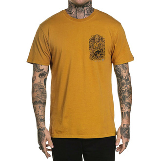 Męski t-shirt SULLEN - SUMMERTIME IN THE GTC - MUSTARD, SULLEN