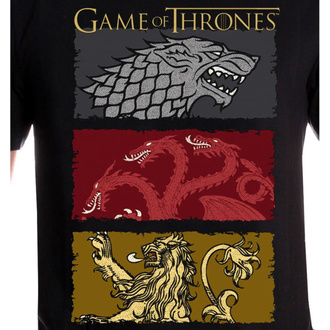 koszulka męska Game of thrones - THE HOUSES OF THE KING - LEGEND, LEGEND, Game of thrones