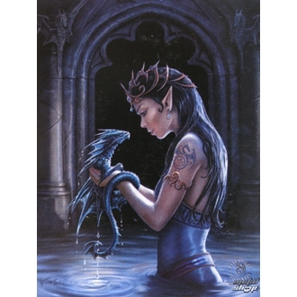 flaga Anne Stokes - Water Dragon, ANNE STOKES, Anne Stokes