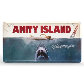 metalowy afisz JAWS - Metal Sign Movie Poster, NNM, JAWS