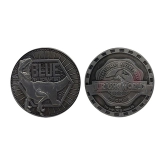 Moneta Jurassic World - Collectable Coin Blue Limited Edition, NNM, Jurassic Park