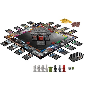 gra STAR WARS - Monopoly The Mandalorian *English Version*, NNM, Star Wars