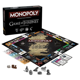 gra Game of Thrones - Monopoly Collectors Edition - English Version, NNM, Game of thrones