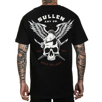 Męski t-shirt SULLEN - LINCOLN EAGLE - BLACK, SULLEN