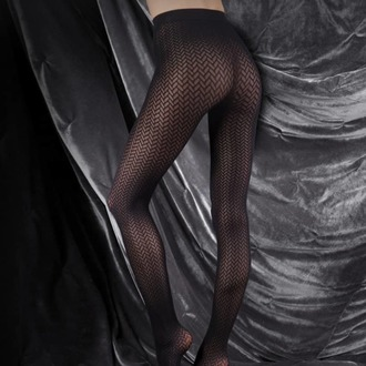 rajstopy LEGWEAR - couture ultimates - the catherine - black, LEGWEAR