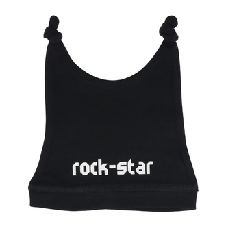Czapka dziecięca rock star in white - black - Metal-Kids, Metal-Kids